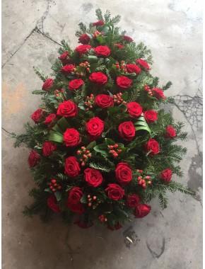 Coroana funerara din Trandafiri